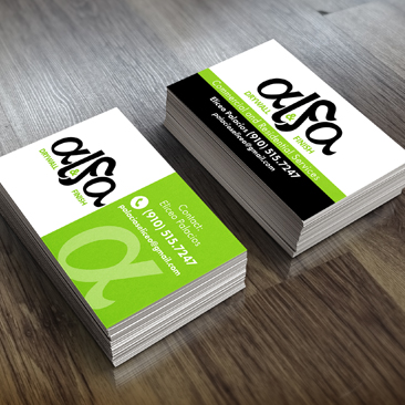 International printing design business cards reheart Image collections